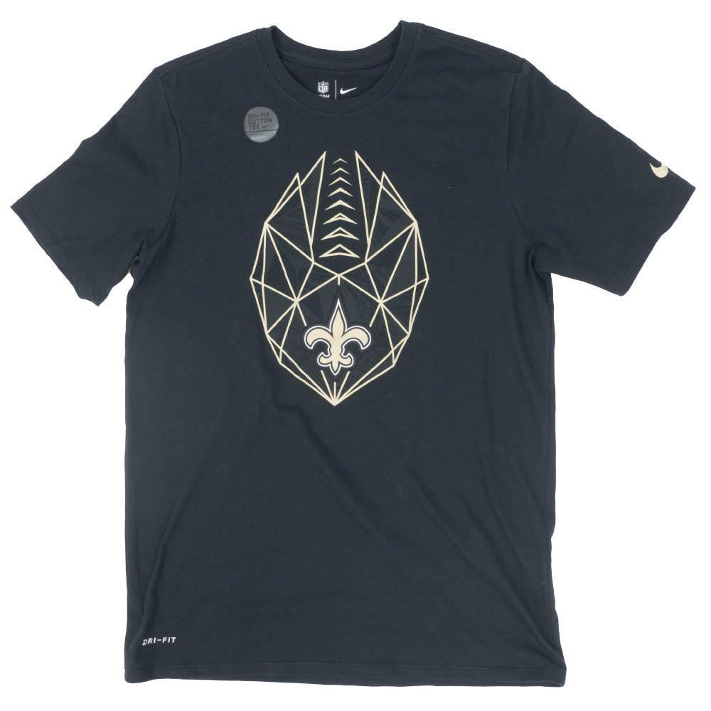 NFL セインツ Tシャツ Icon Performance T-Shirt ナイキ/Nike ブラック 926296-010