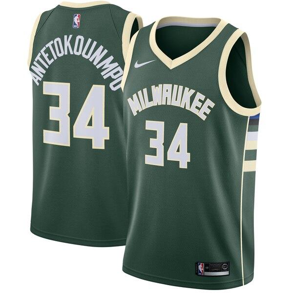 NBA ヤニス・アデトクンボ ミルウォーキー・バックス ユニフォーム/ジャージ アイコン Swingman Jersey ナイキ/Nike グリーン