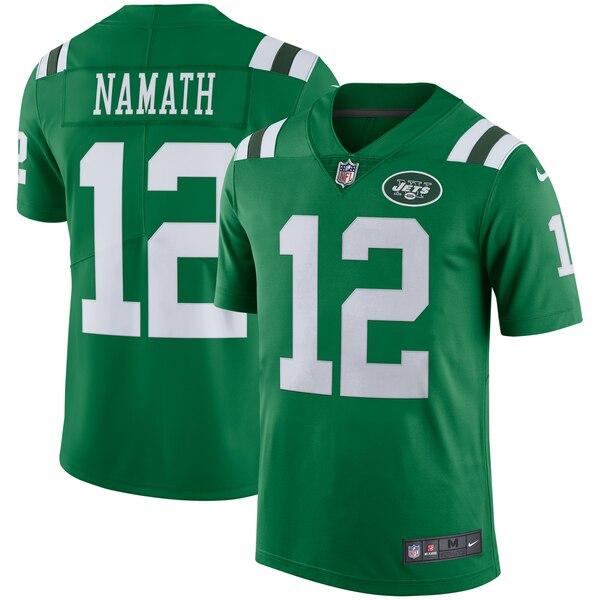 NFL ジョー・ネイマス ジェッツ ユニフォーム/ジャージ カラーラッシュ リミテッド ナイキ/Nike グリーン