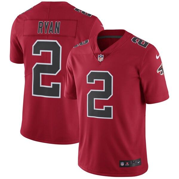 NFL マット・ライアン ファルコンズ ユニフォーム/ジャージ カラーラッシュ リミテッド ナイキ/Nike レッド