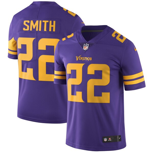 NFL ハリソン・スミス バイキングス ユニフォーム/ジャージ カラーラッシュ リミテッド ナイキ/Nike パープル