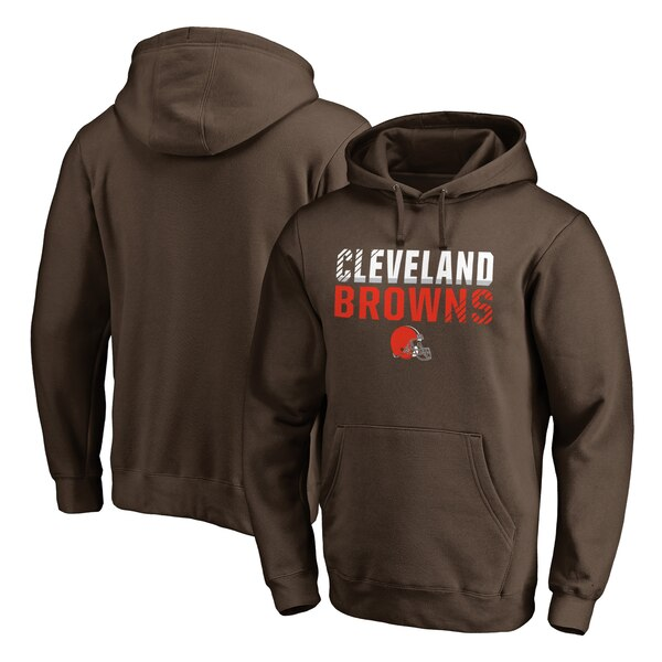 NFL ブラウンズ パーカー/フーディー アイコニック コレクション フェードアウト プルオーバー ブラウン