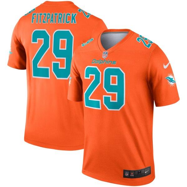 NFL ミンカー・フィッツパトリック ドルフィンズ ユニフォーム/ジャージ インバート レジェンド ナイキ/Nike オレンジ