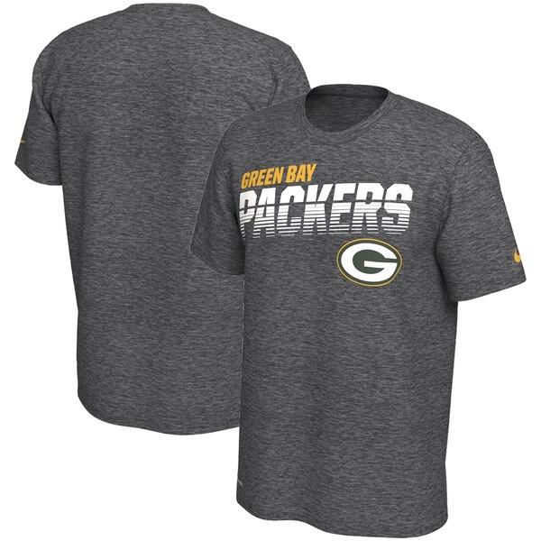 NFL パッカーズ Tシャツ サイドライン ライン オブ スクリメージ レジェンド ナイキ/Nike ヘザーグレー