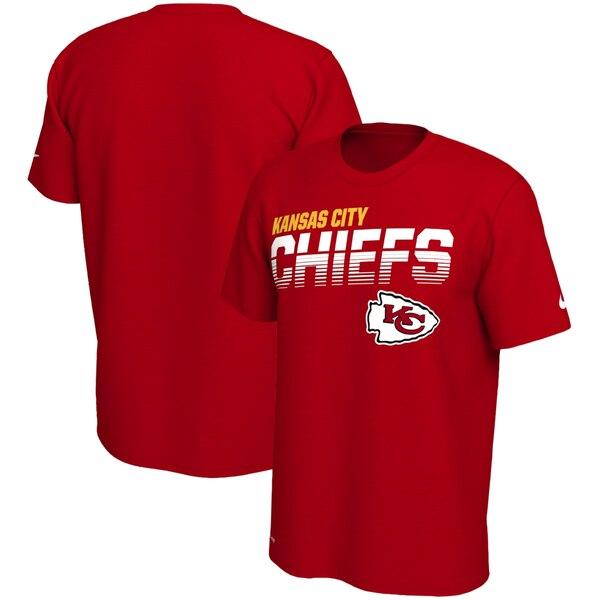 スーパーボウル進出 NFL チーフス Tシャツ サイドライン ライン オブ スクリメージ レジェンド ナイキ/Nike レッド