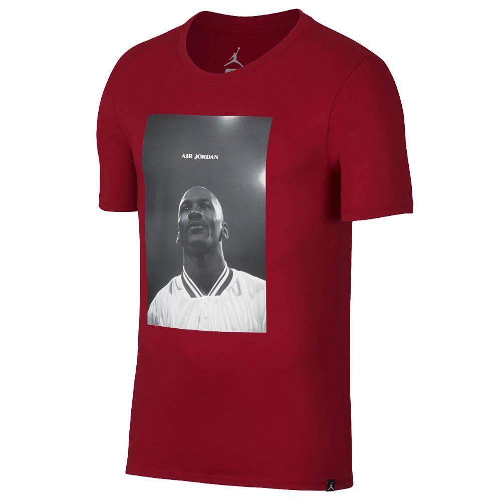 ジョーダンブランドのフォトTシャツ JORDAN Tシャツ Jordan JSW 卸売り Wings レッド T-Shirt 907982-687 Flc 3 アウトレットセール 特集