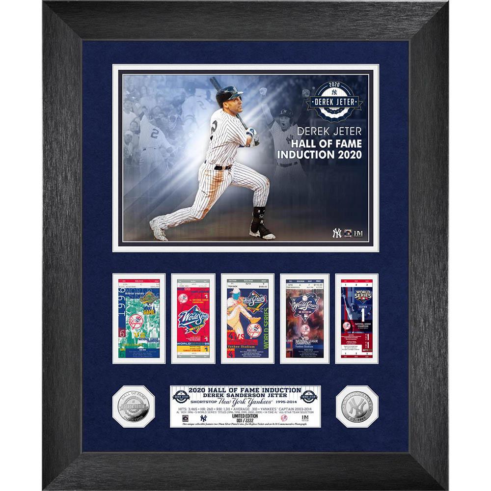 MLB デレク・ジーター ニューヨーク・ヤンキース 2020 HOF インダクション WS マーキー コイン The Highland Mint