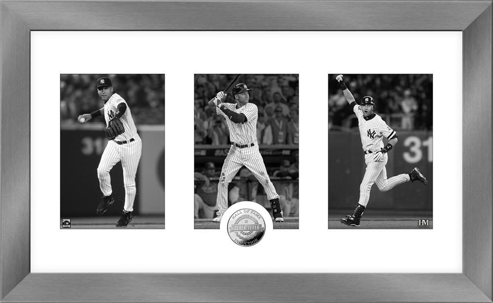 MLB デレク・ジーター ニューヨーク・ヤンキース 2020 HOF インダクション アート デコ コイン The Highland Mint