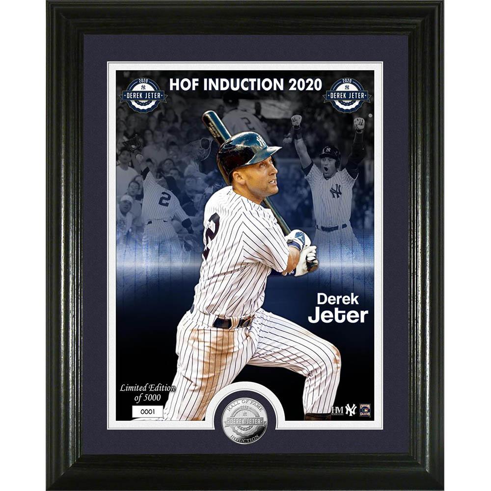 MLB デレク・ジーター ニューヨーク・ヤンキース 2020 HOF インダクション コイン The Highland Mint