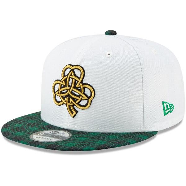 NBA ボストン・セルティックス キャップ/帽子 2019/20 アーンド エディンション 9FIFTY ニューエラ/New Era ホワイト/グリーン