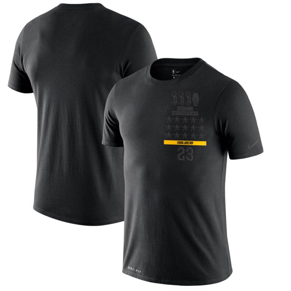NBA レブロン・ジェームス ロサンゼルス・レイカーズ Tシャツ MVP T-Shirt ナイキ/Nike ブラック
