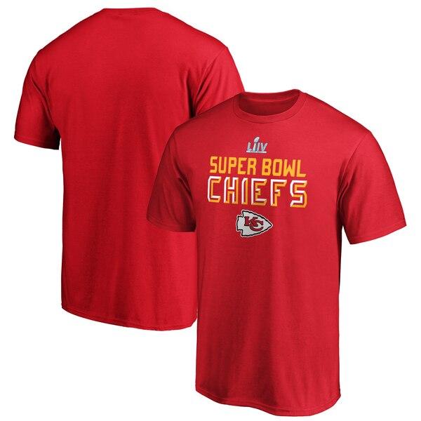 スーパーボウル進出 NFL チーフス Tシャツ 第54回スーパーボウル出場 セーフティー ブリッツ レッド