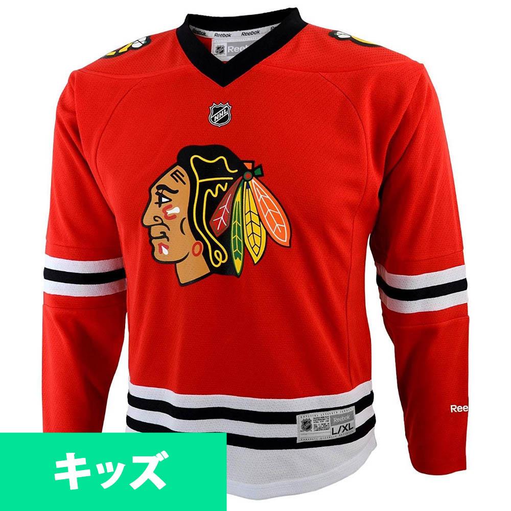 NHL ブラックホークス ユニフォーム/ジャージ ユース レプリカ リーボック/Reebok ホーム レッド