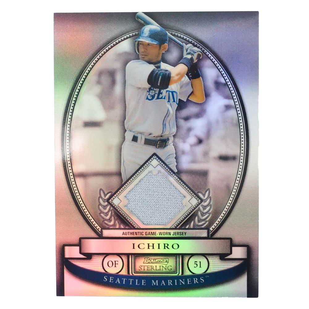 MLB イチロー シアトル・マリナーズ トレーディングカード/スポーツカード 2008 #BS-IS ゲーム ジャージ /199 Bowman