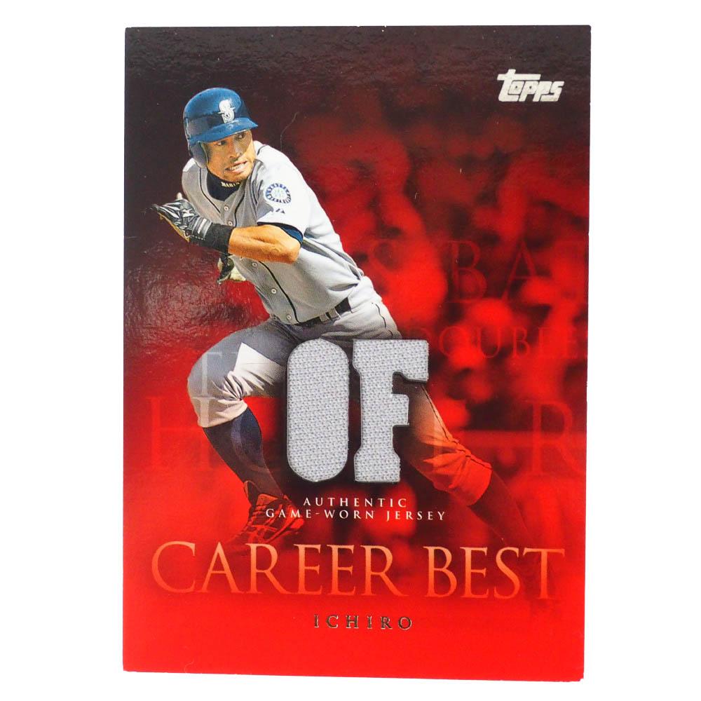 MLB イチロー シアトル・マリナーズ トレーディングカード/スポーツカード 2009 #CBR-IS ゲーム ジャージ Topps