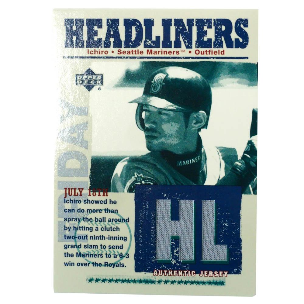 MLB イチロー シアトル・マリナーズ トレーディングカード/スポーツカード 2003 #HL-IS Upper Deck