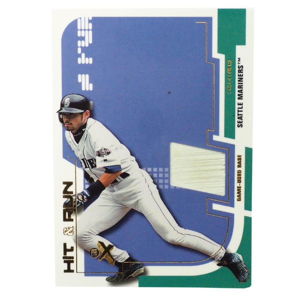 MLB イチロー シアトル・マリナーズ トレーディングカード/スポーツカード 2002 Hit & Run ユーズド ベース Fleer