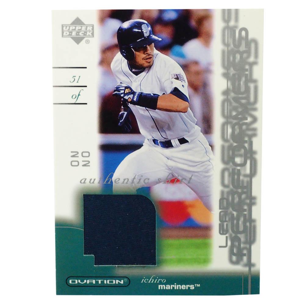 MLB イチロー シアトル・マリナーズ トレーディングカード/スポーツカード 2002 #LP-IS ゲーム ジャージ Upper Deck