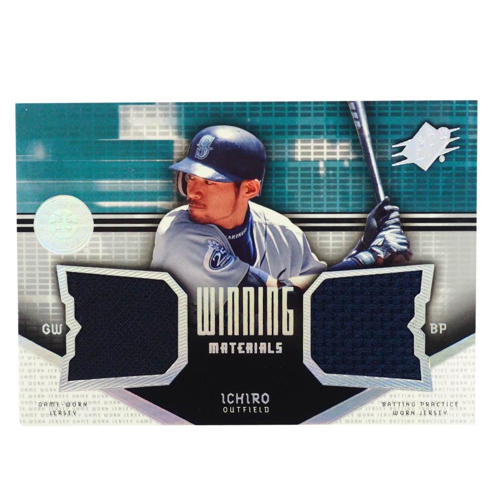 MLB イチロー シアトル・マリナーズ トレーディングカード/スポーツカード 2004 #VM-IS Wジャージ ネイビー Upper Deck