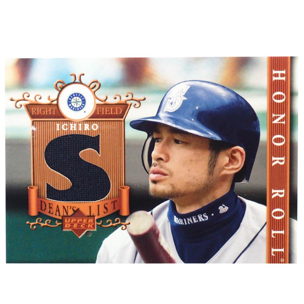 MLB イチロー シアトル・マリナーズ トレーディングカード/スポーツカード 2003 #DL-IS1 ゲーム ジャージ ネイビー Upper Deck
