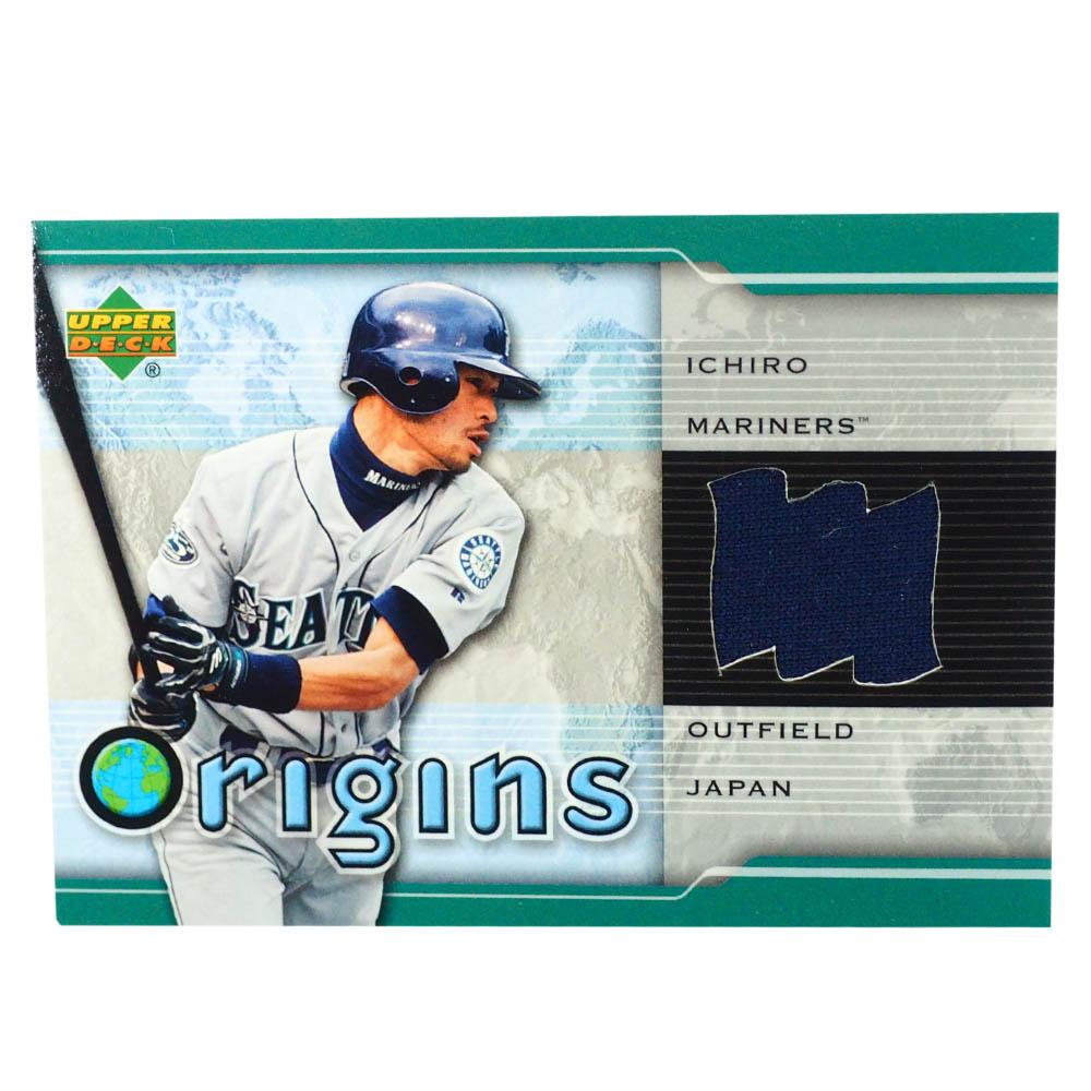 MLB イチロー シアトル・マリナーズ トレーディングカード/スポーツカード 2004 #OR-IS ゲーム ジャージ ネイビー Upper Deck