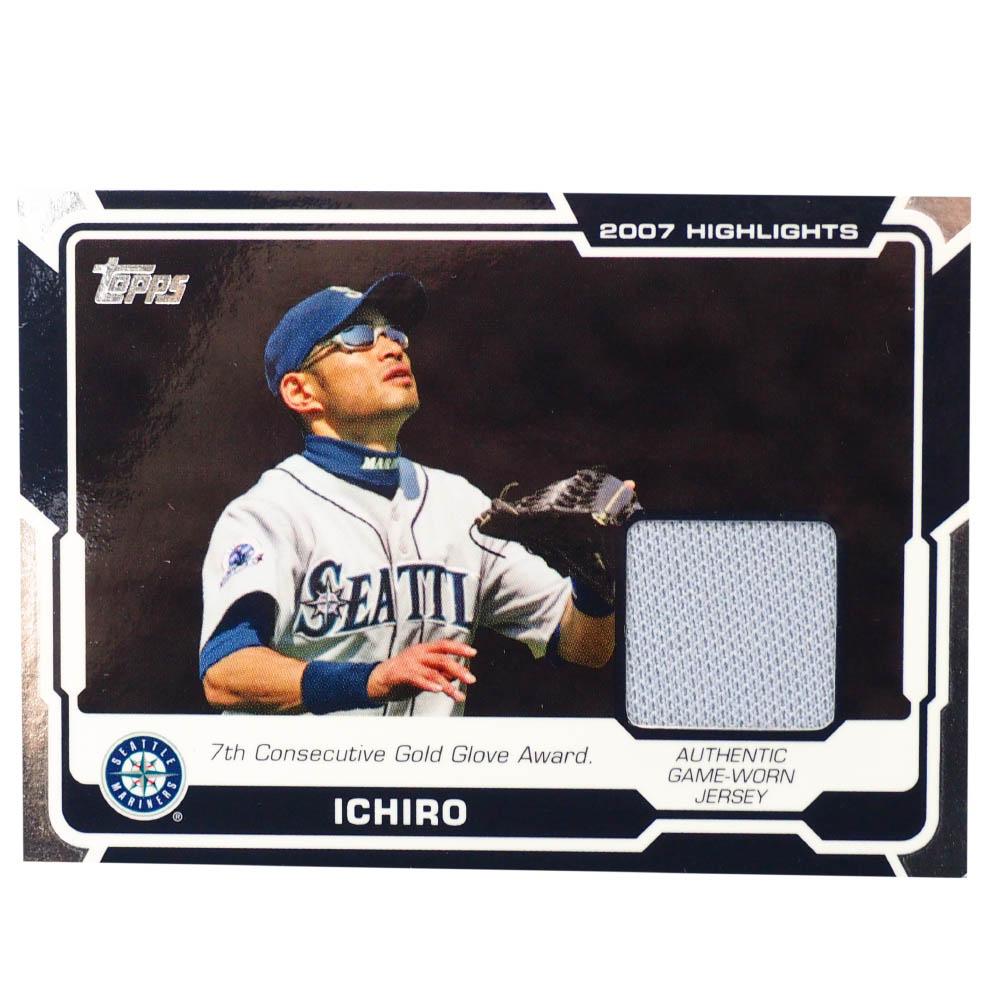 MLB イチロー シアトル・マリナーズ トレーディングカード/スポーツカード 2008 #HR-IS ゲーム ジャージ グレー Topps