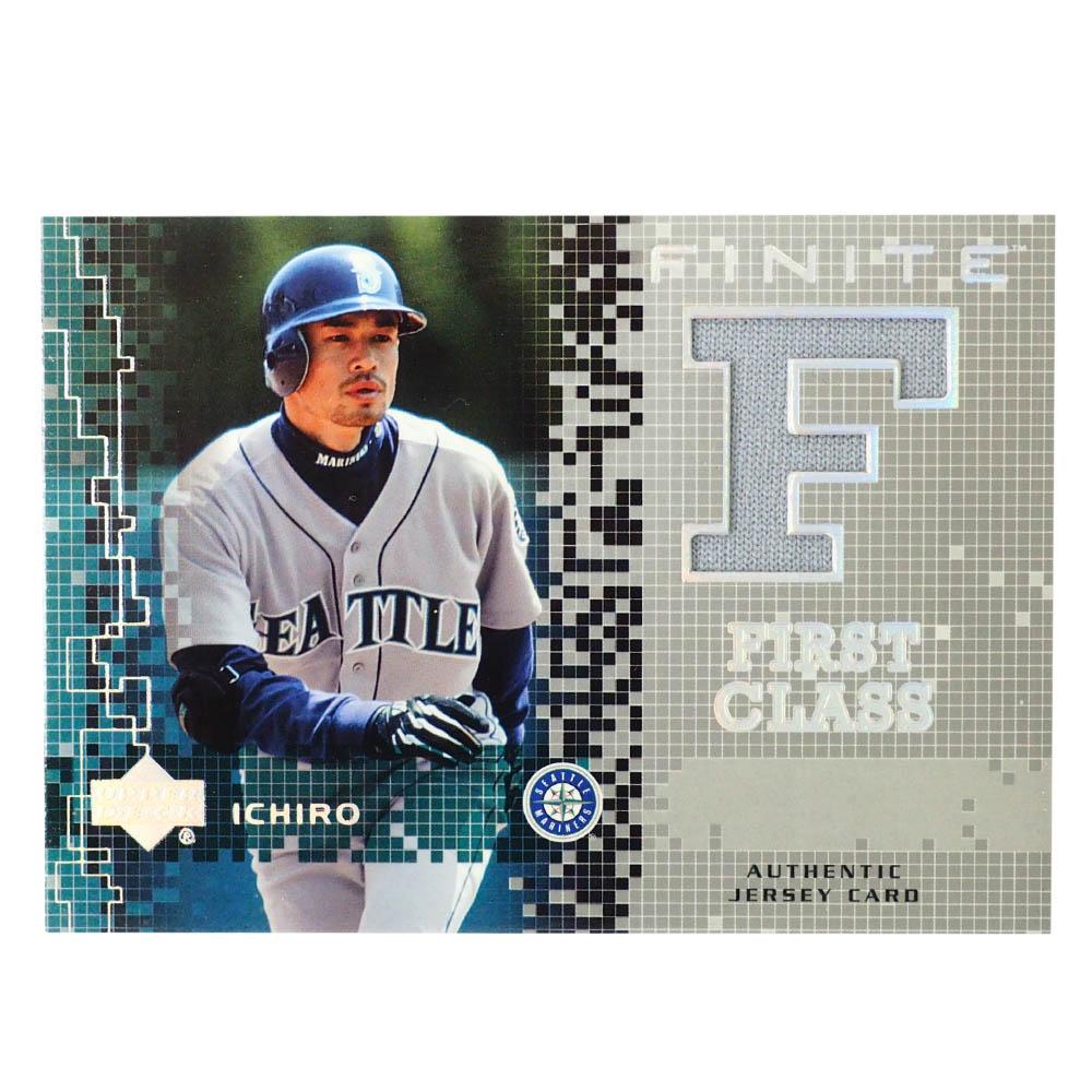 MLB イチロー シアトル・マリナーズ トレーディングカード/スポーツカード 2003 #FC-15 ゲーム ジャージ グレー Upper Deck