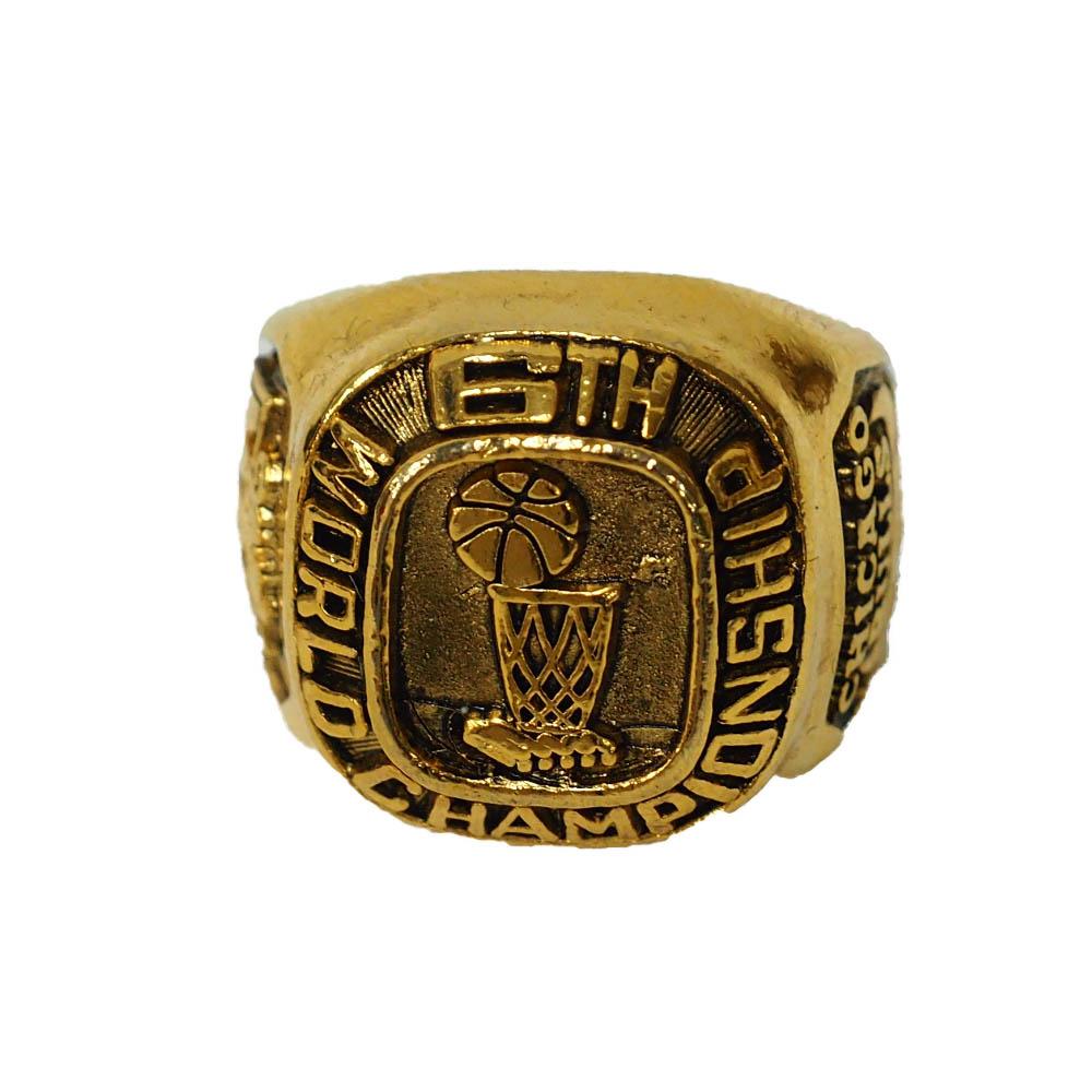 NBA シカゴ・ブルズ 1998 ファイナルズ レプリカ チャンピオンズ リング MGD #1 ファン SGA
