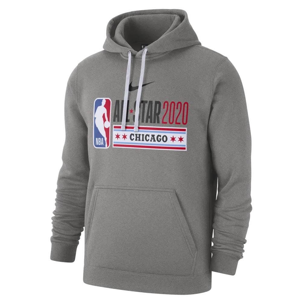 あす楽対応 2020シカゴ開催 ブランド買うならブランドオフ NBAオールスターゲームフーディー NBA パーカー フーディー 2020 オールスターゲーム ナイキ Club 定番の人気シリーズPOINT(ポイント)入荷 レッド Pullover CI5447-063 Nike Fleece Hoodie