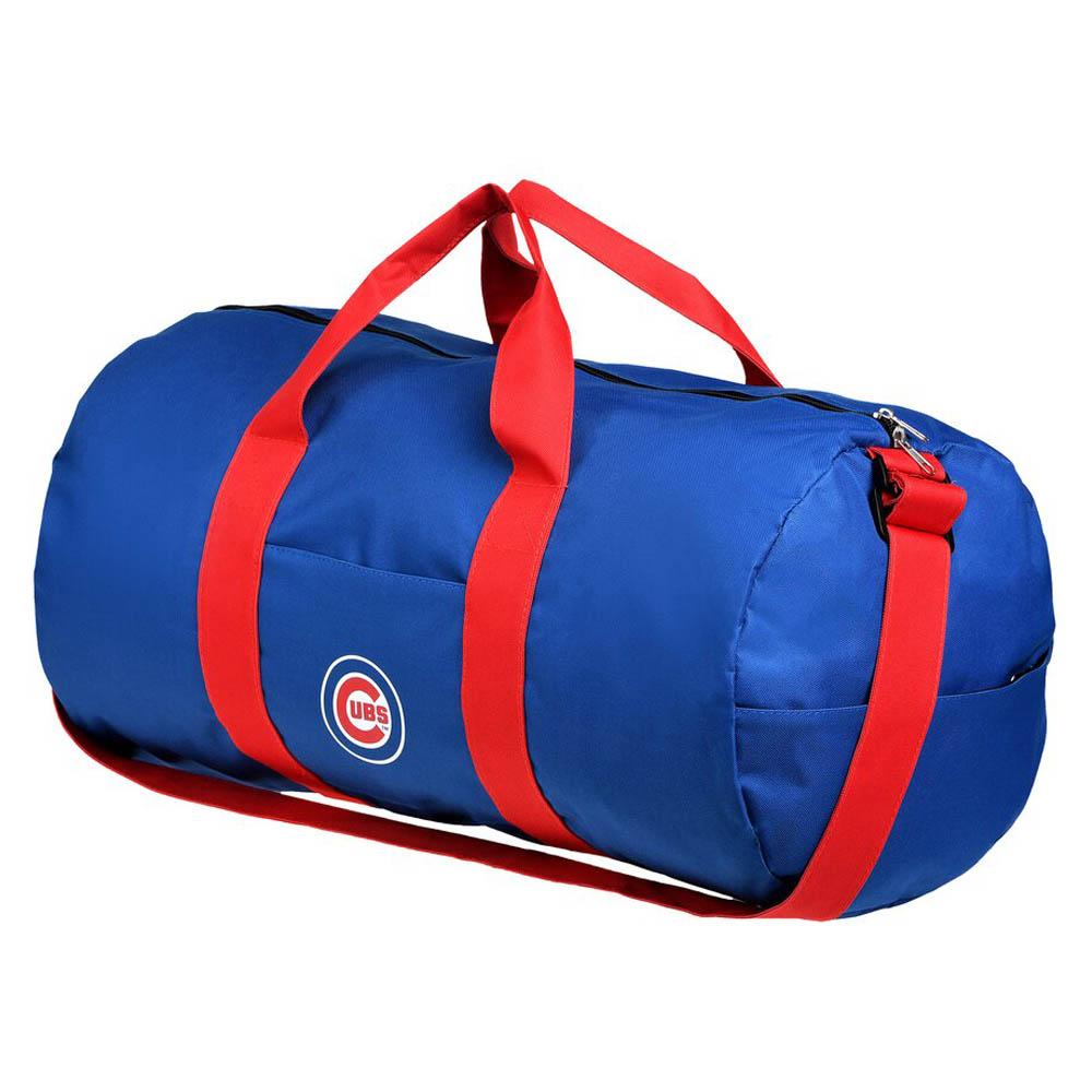 あす楽対応 MLBチームダッフルバッグ 100%品質保証 MLB シカゴ カブス 与え Vessel Barrel Collectibles Bag Forever ボストンバッグ Duffle ダッフルバッグ