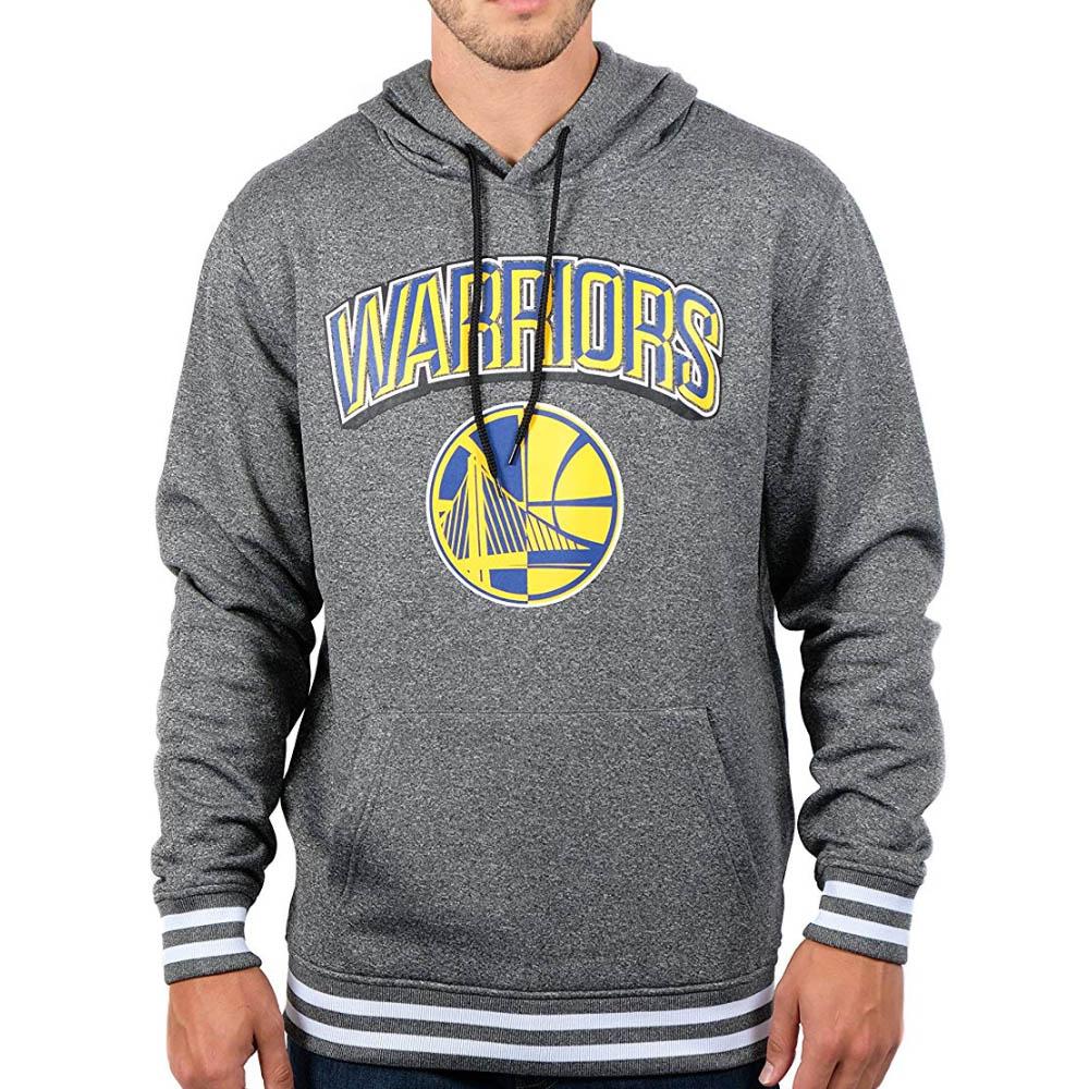 NBA ゴールデンステイト・ウォリアーズ パーカー/フーディー Focused Pullover Fleece Hoodie プルオーバー UNK グレー