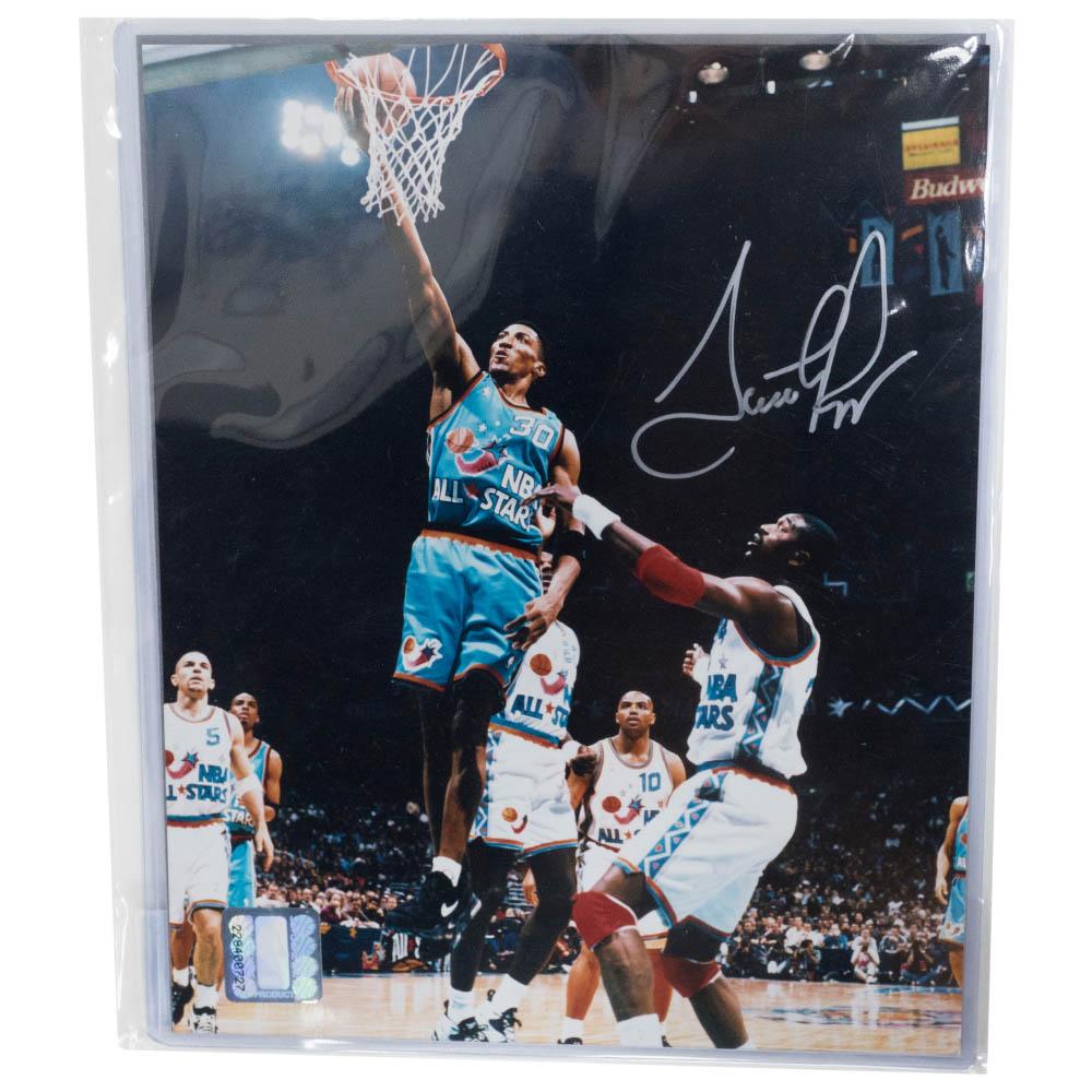 NBA スコッティ・ピッペン Photo フォト 直筆サイン シリアルナンバー PSA/DNA
