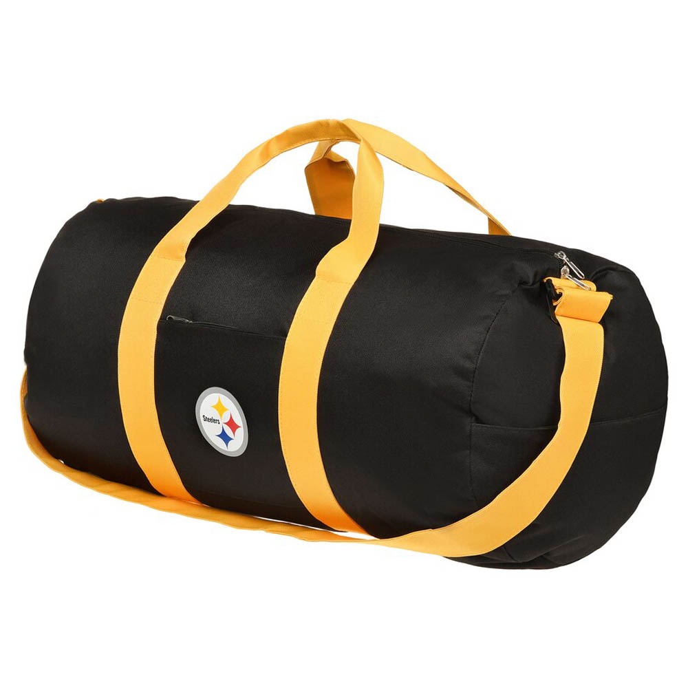 NFL スティーラーズ Vessel Barrel Duffle Bag ダッフルバッグ ボストンバッグ Forever Collectibles