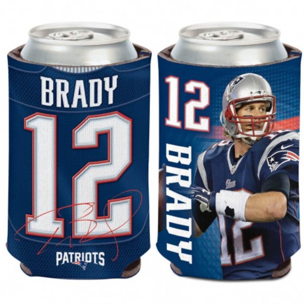 NFL トム・ブレイディ ペイトリオッツ カンクーラー 12 oz. 缶クーラー ウィンクラフト/WinCraft
