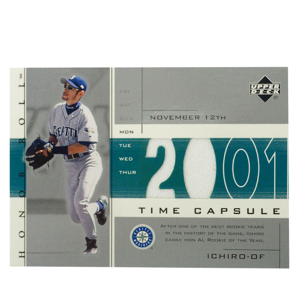 MLB イチロー シアトル・マリナーズ トレーディングカード/スポーツカード 2002 Ichiro ##TC-13 Upper Deck