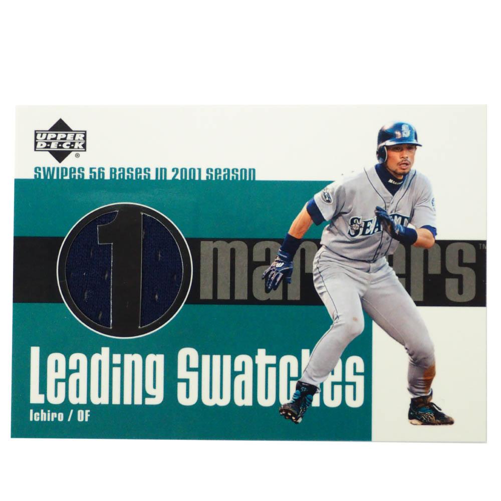 MLB イチロー シアトル・マリナーズ トレーディングカード/スポーツカード 2003 Ichiro #LS-IS1 Jersey Navy Upper Deck