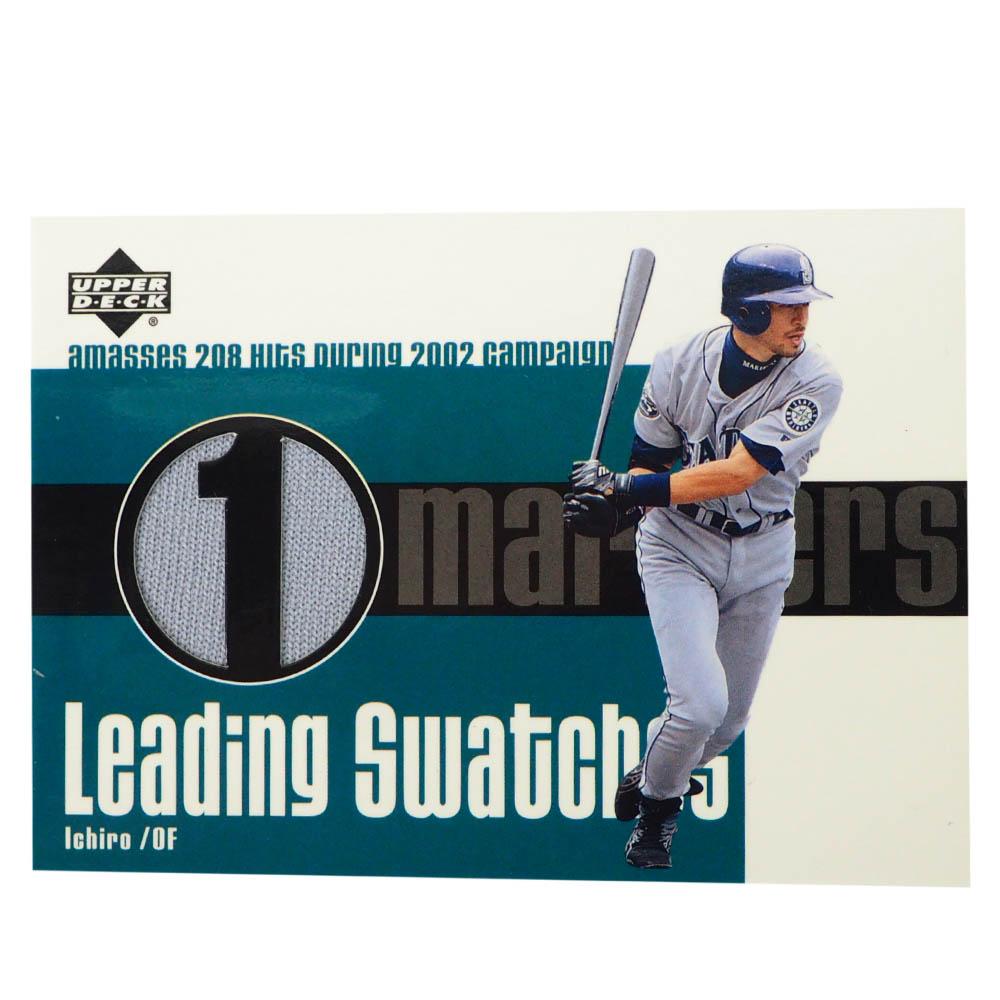 MLB イチロー シアトル・マリナーズ トレーディングカード/スポーツカード 2003 Ichiro #LS-IS Jersey Grey Upper Deck