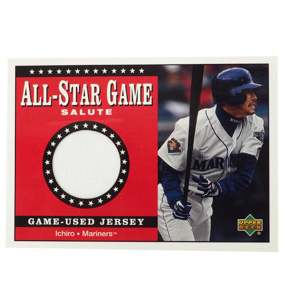 MLB イチロー シアトル・マリナーズ トレーディングカード/スポーツカード Rookie 2001 Ichiro #SJ-IS Game Jersey White Upper Deck