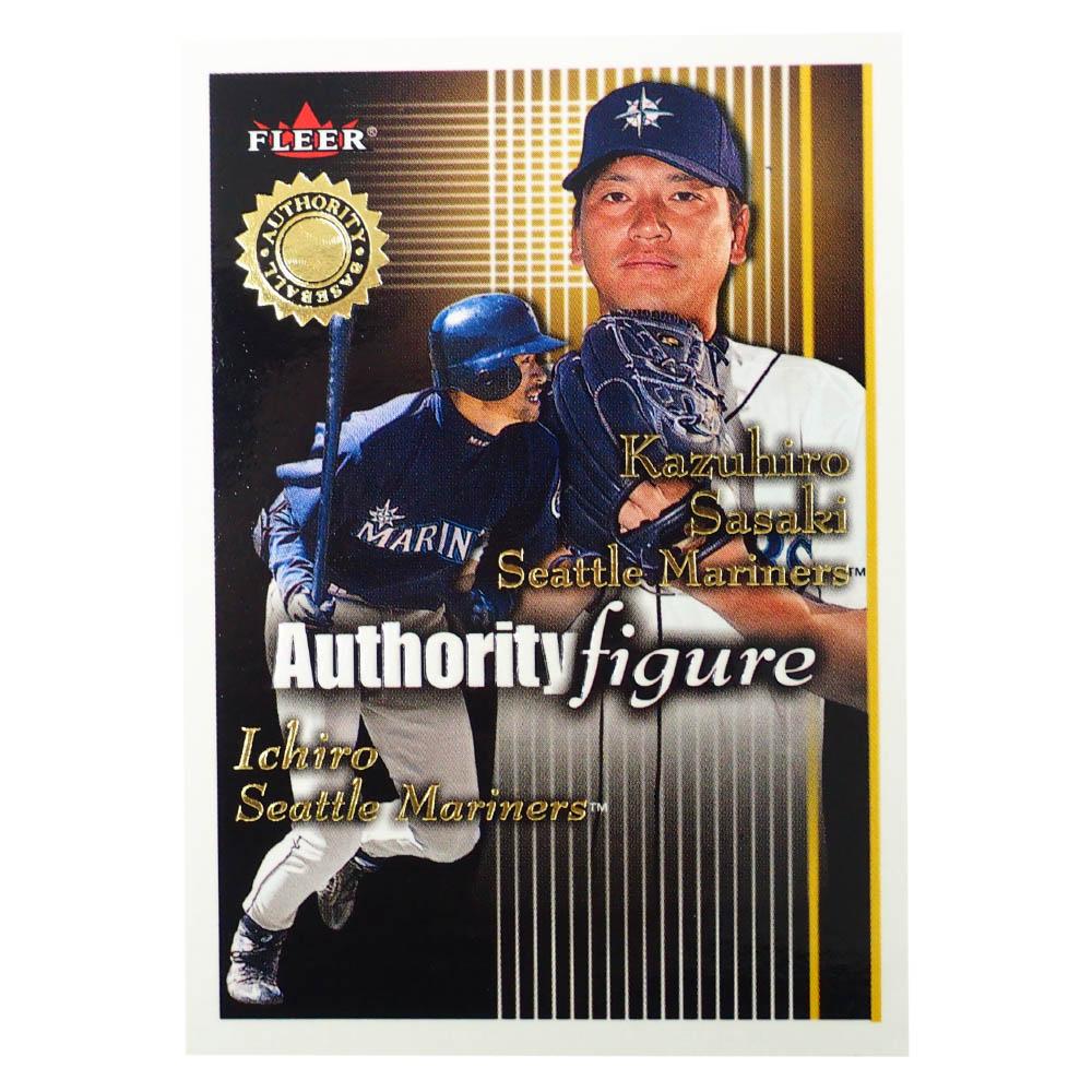 MLB トレーディングカード/スポーツカード 2001 Rookie Ichiro Sasaki Ichiro 1516/1750 Fleer