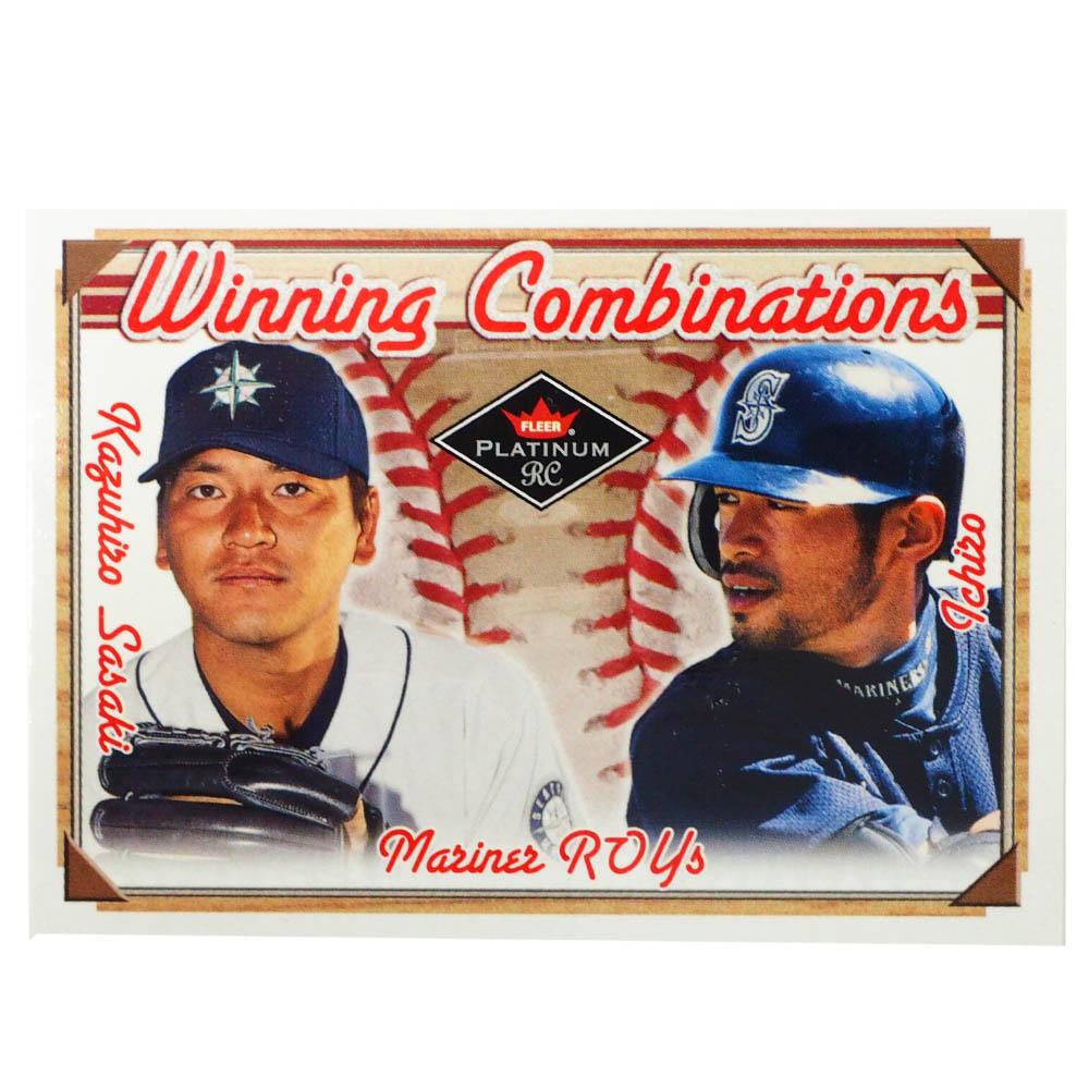 MLB トレーディングカード/スポーツカード 2001 Rookie Ichiro Sasaki299/500 15 of 40 wc Fleer