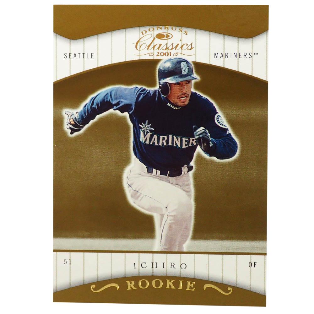 MLB イチロー シアトル・マリナーズ トレーディングカード/スポーツカード Rookie 2001 Ichiro #146 182/585 Donruss