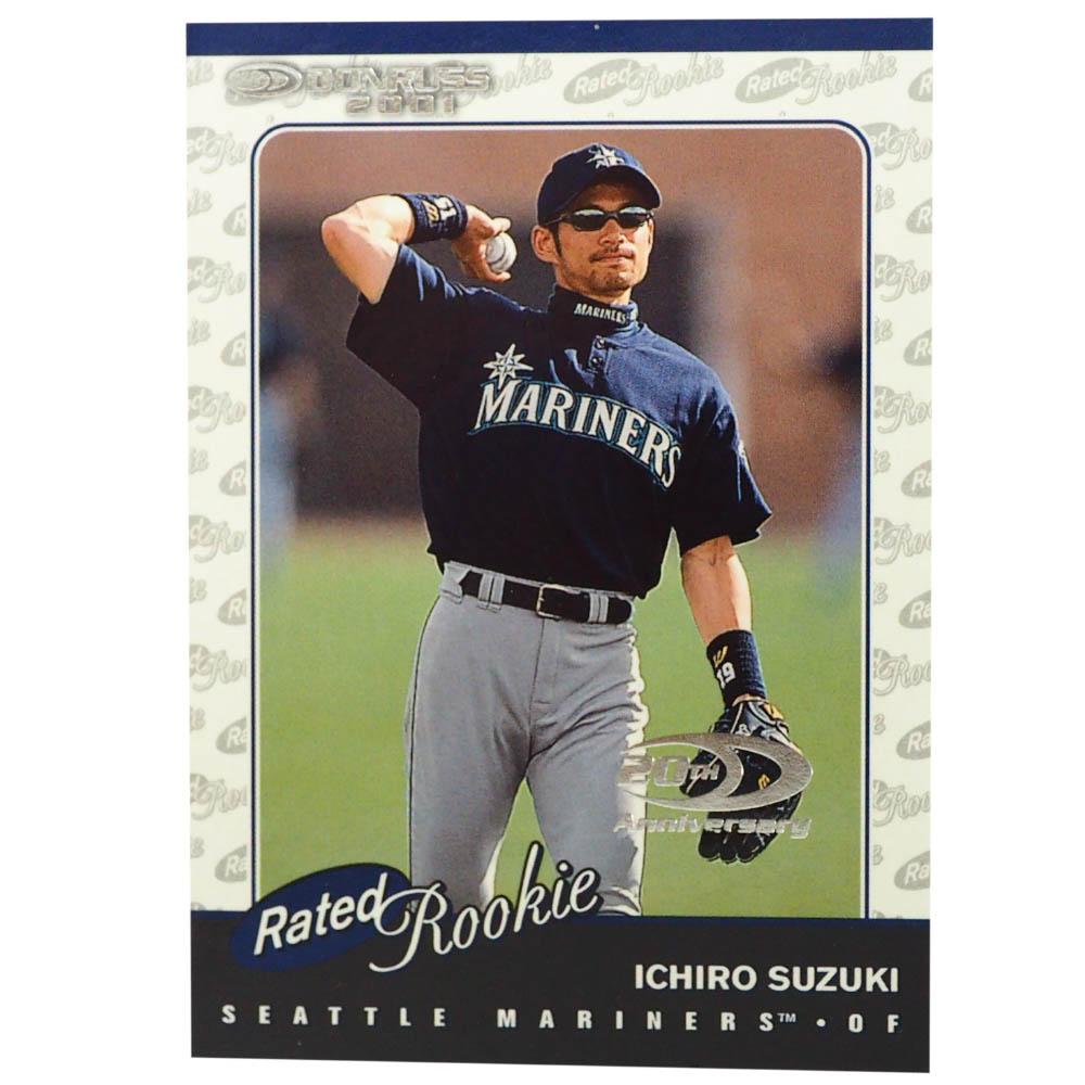 MLB イチロー シアトル・マリナーズ トレーディングカード/スポーツカード Rookie 2001 Ichiro #195 1331/2001 Donruss