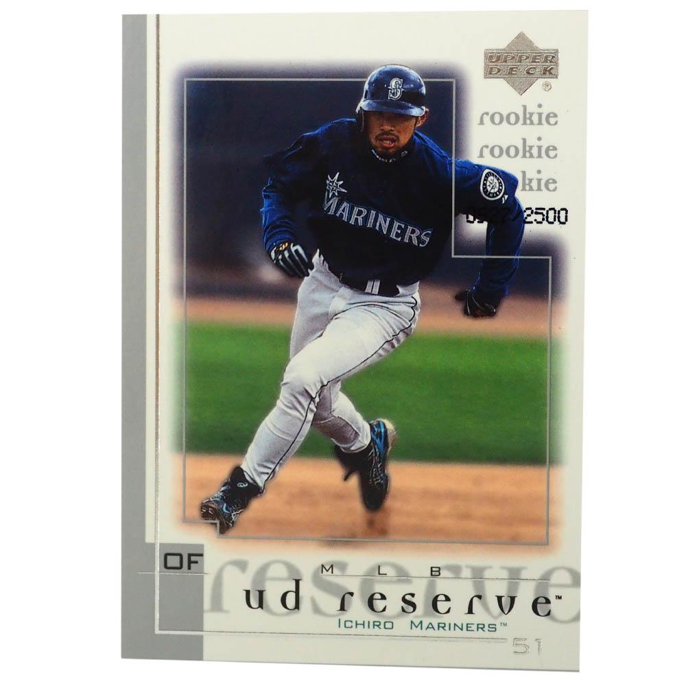 MLB イチロー シアトル・マリナーズ トレーディングカード/スポーツカード Rookie 2001 Ichiro #181 927/2500 Upper Deck