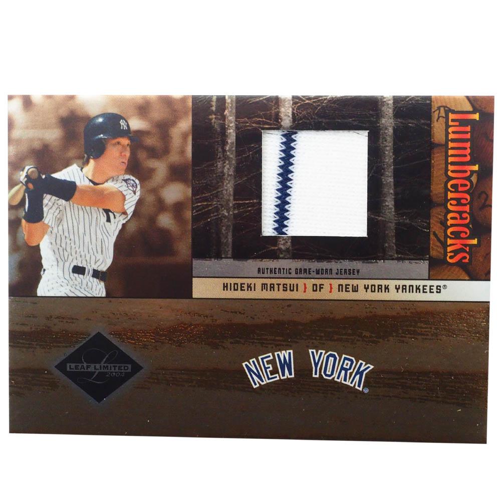MLB 松井 秀喜 ニューヨーク・ヤンキース トレーディングカード/スポーツカード Donruss 2004 H Game Jersey 90/100 #LJ-21 Donruss
