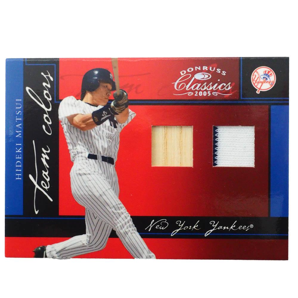 MLB 松井 秀喜 ニューヨーク・ヤンキース トレーディングカード/スポーツカード Donruss 2005 H Game Jersey Bat 48/50 #TG-16 Donruss