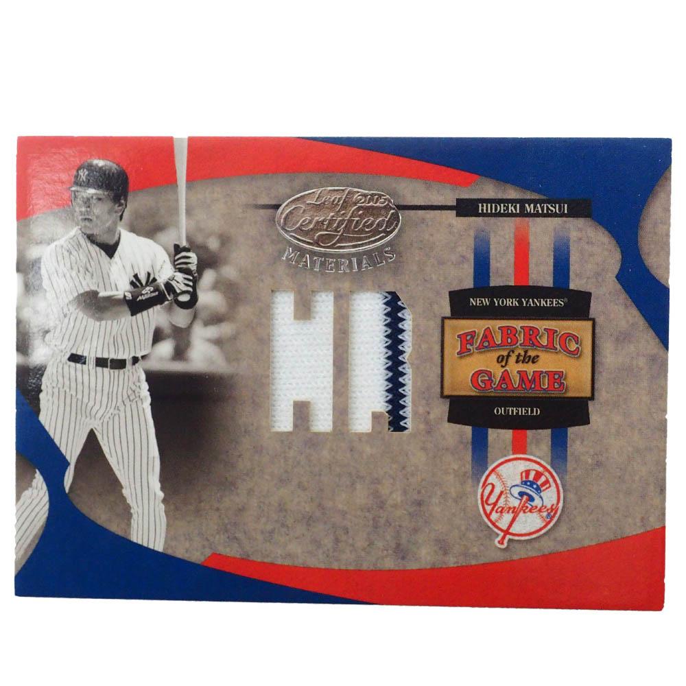MLB 松井 秀喜 ニューヨーク・ヤンキース トレーディングカード/スポーツカード Donruss 2005 H Game Jersey 47/75 #FG-160 Donruss