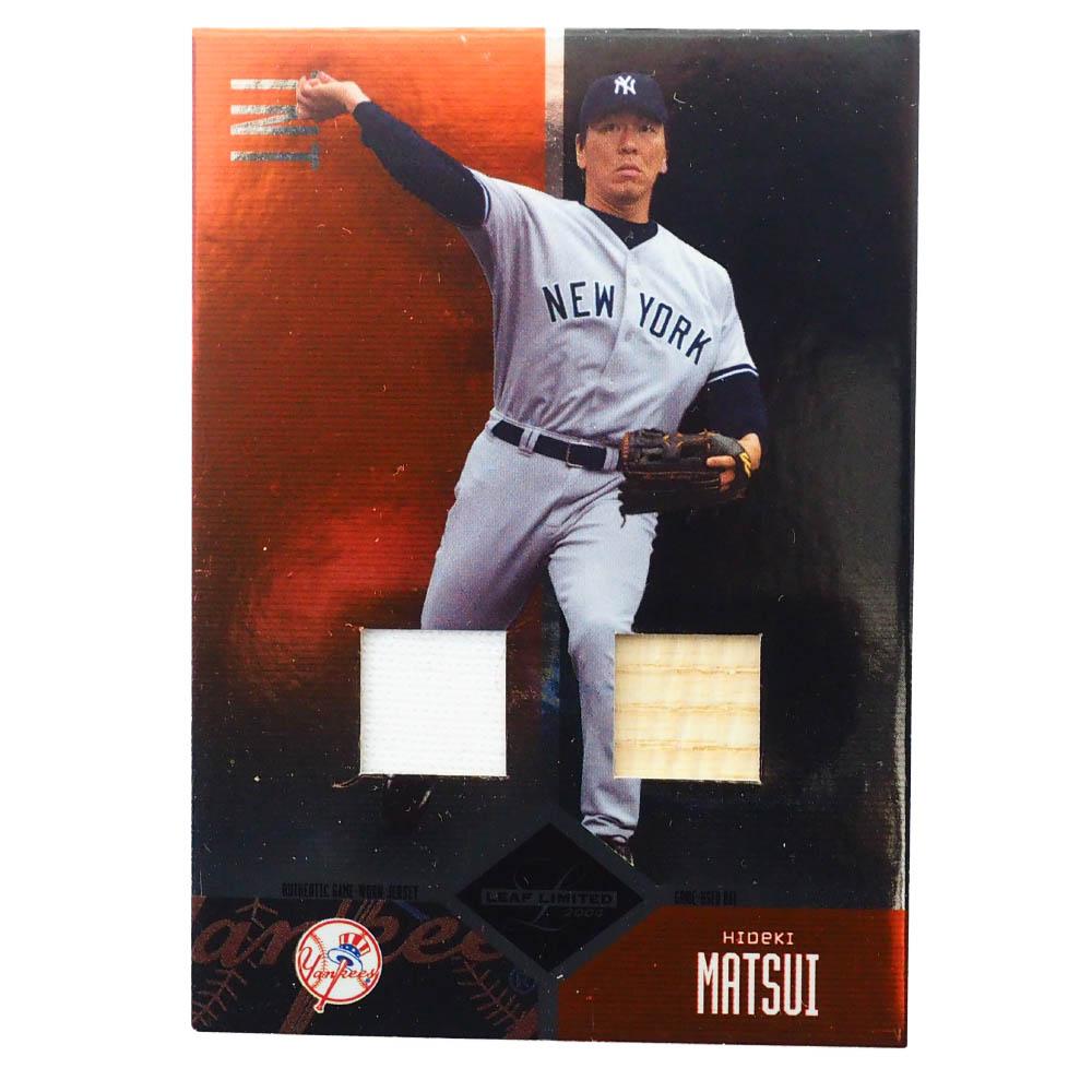 MLB 松井 秀喜 ニューヨーク・ヤンキース トレーディングカード/スポーツカード Donruss 2004 H #41 24/50 Game Jersey Bat Donruss