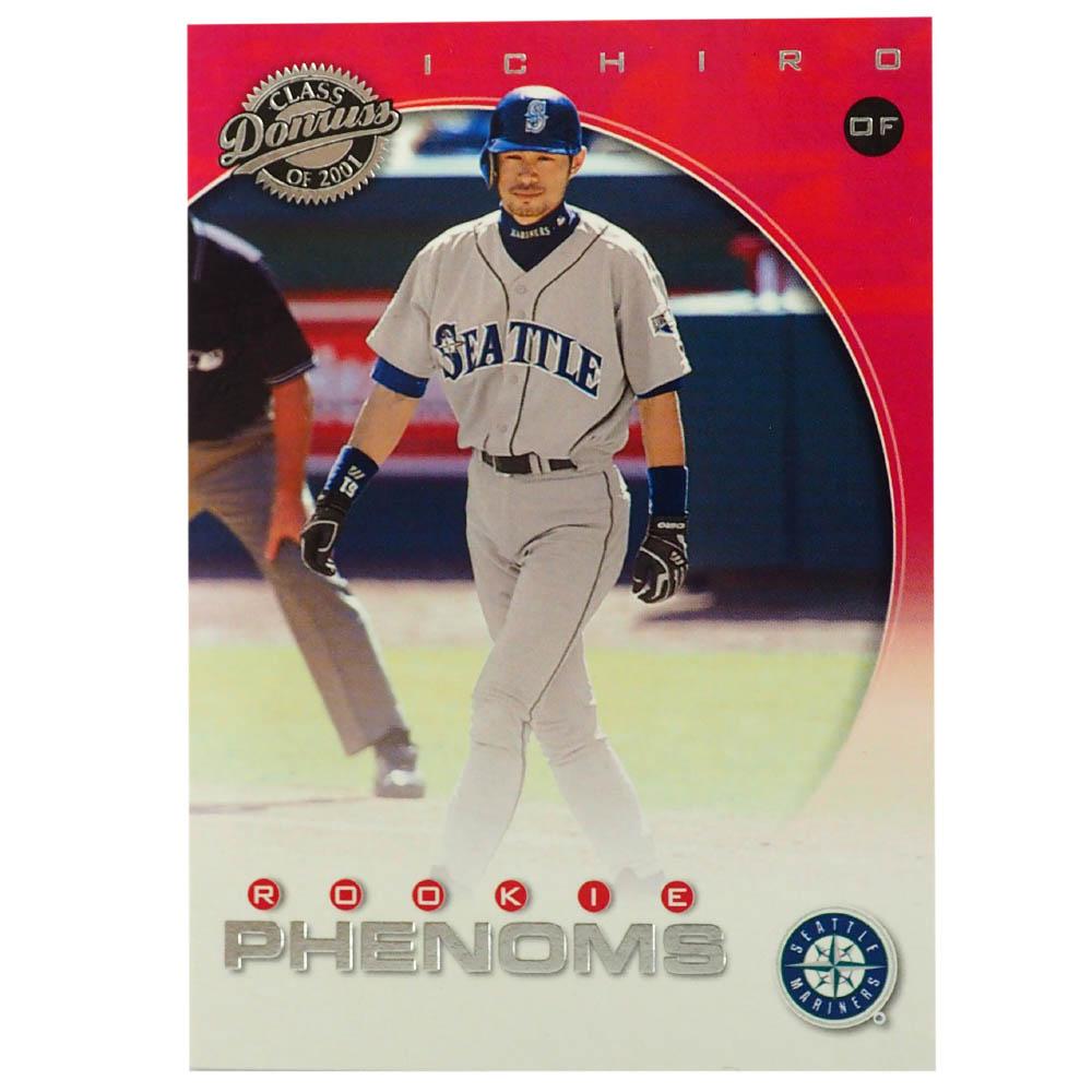 MLB イチロー シアトル・マリナーズ トレーディングカード/スポーツカード Rookie 2001 Ichiro #251 505/625 Donruss