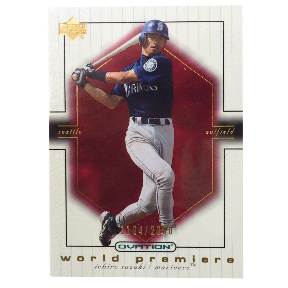 MLB イチロー シアトル・マリナーズ トレーディングカード/スポーツカード 2001 Rookie Ichiro #76 1194/2000 Upper Deck