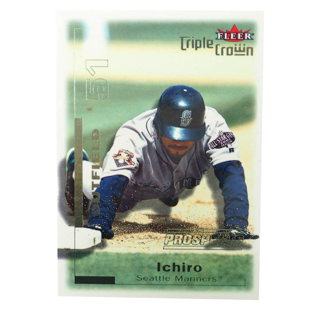 MLB イチロー シアトル・マリナーズ トレーディングカード/スポーツカード 2001 Rookie Ichiro #306 1405/2999 Fleer